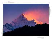 Kanchenjunga Peak, North East India Tours